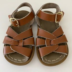 Salt Water Sandals - Camel Leather